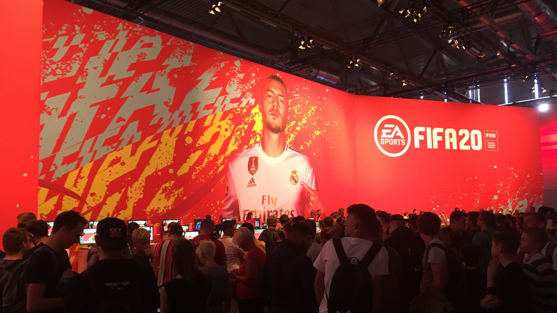 gamescom 2019 FIFA 20 stage